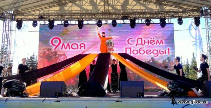 """""""Георгиевская лента"""" Шоу-балет """"Модус"""""""